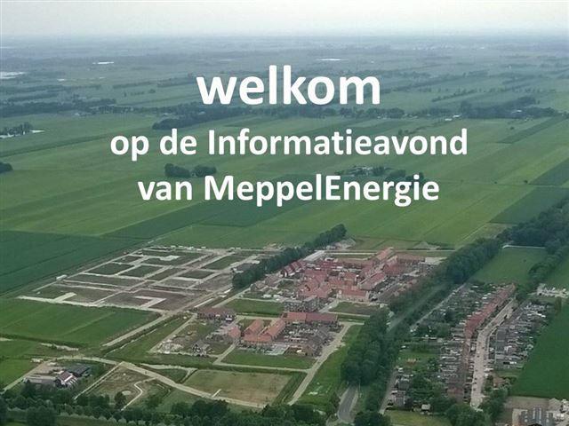 Informatieavonden MeppelEnergie (oktober 2018)